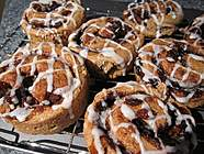 Sprouted Spelt Cinnamon Rolls
